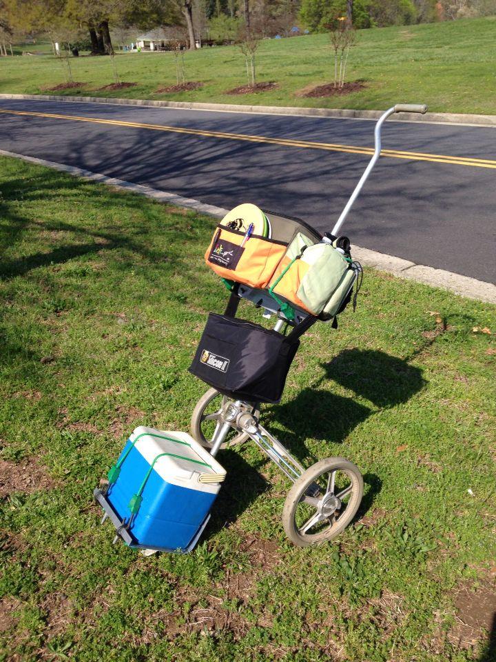 Discgolfbag Lunch Cooler Dg Cart Disc Golf Bags