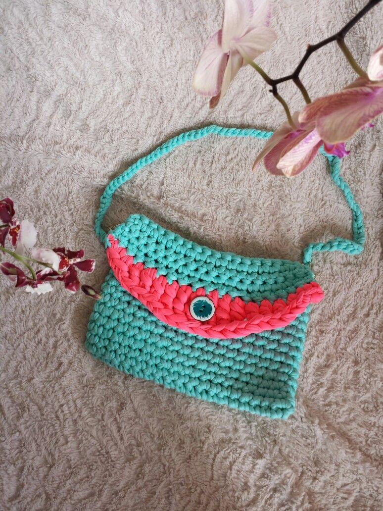 Colorido Bolso clutch trapillo   Aseneiv.m@gmail.com