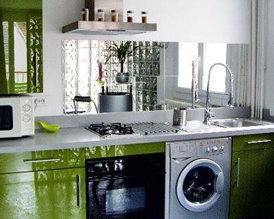 Crédence En Miroir Pour La Buanderie | Home: Laundry, Pantry, Mud