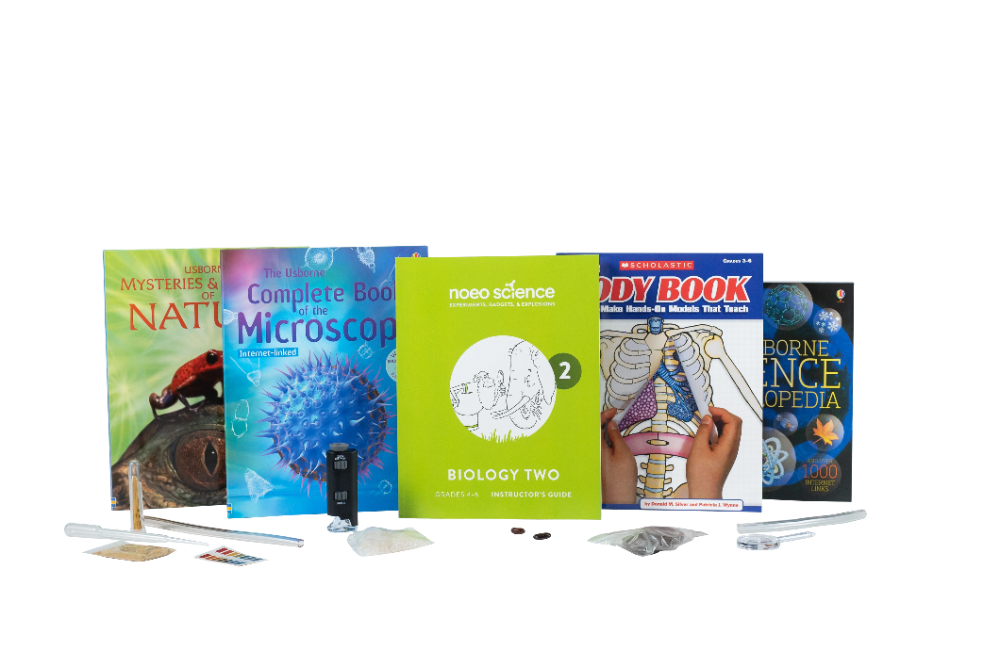 Noeo Science Biology 2 Grades 4 6 Logos Press Biology Living Books Science Science Experiment Kits