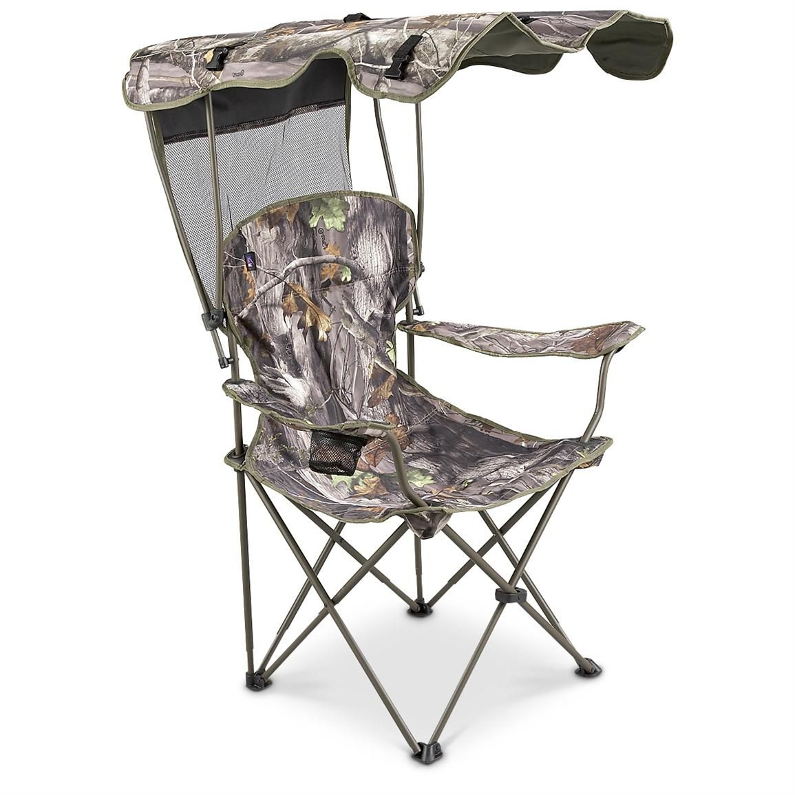 MAC(R) Canopy Chair, Realtree(R) Camo Canopy outdoor