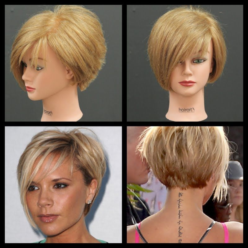 Victoria beckham inspired haircut tutorial thesalonguy do it the bob has been a classic hairstyle for many years but when victoria solutioingenieria Gallery