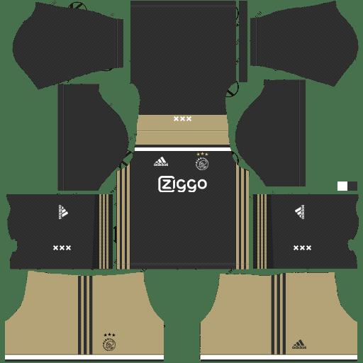 Dream League Soccer Kits Afc Ajax 2018 19 Kit Logo Url Thể Thao