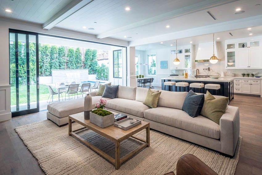 Open Concept Living Room (Design Ideas)