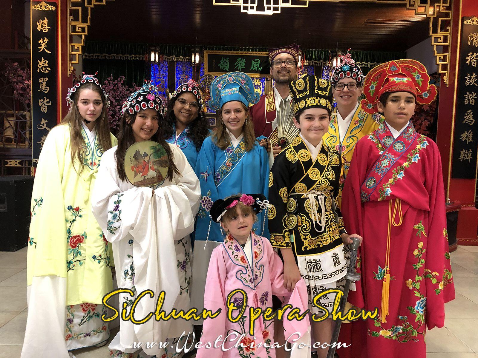 sichuan opera show