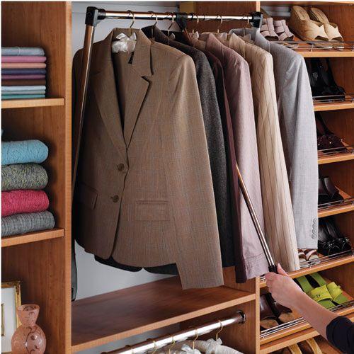 Hafele Pull   Down Wardrobe Rails