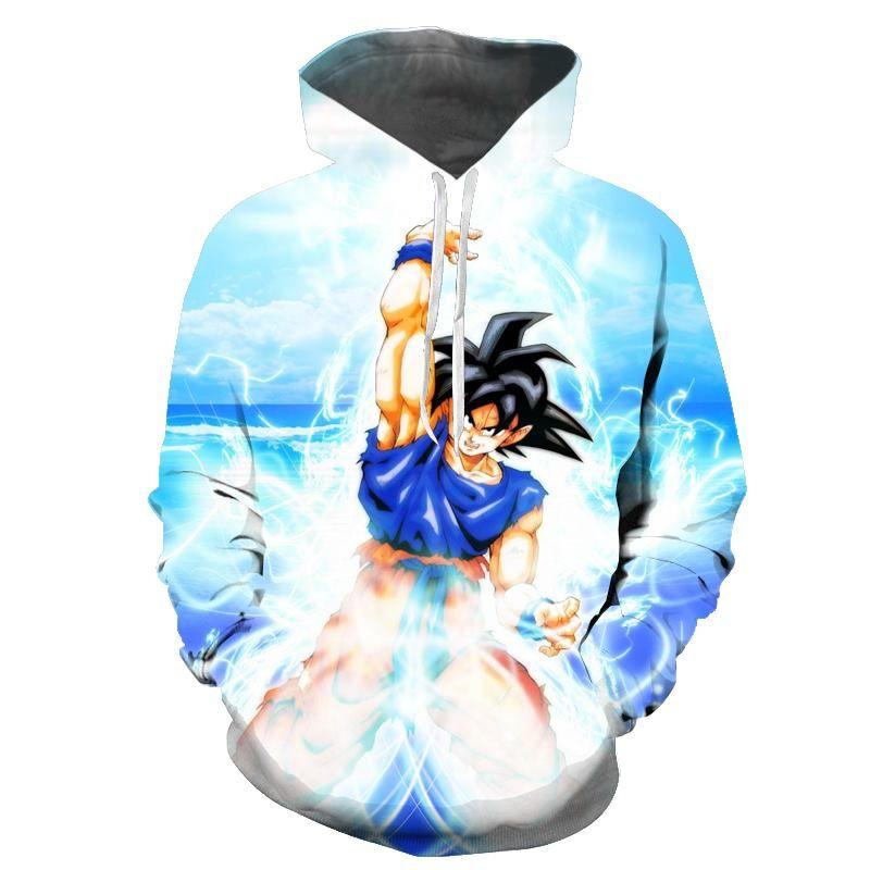 Goku 3d Hoodies Sweatshirts Hoodie Hoodie Cartoon Anime Hoodie