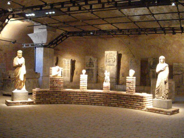 Roman statues found in Belgrade