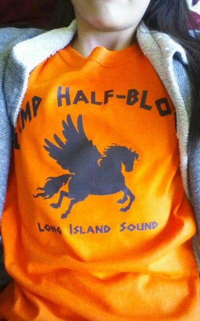"Woohoo it says ""Camp Half-Blood long island sound ..."