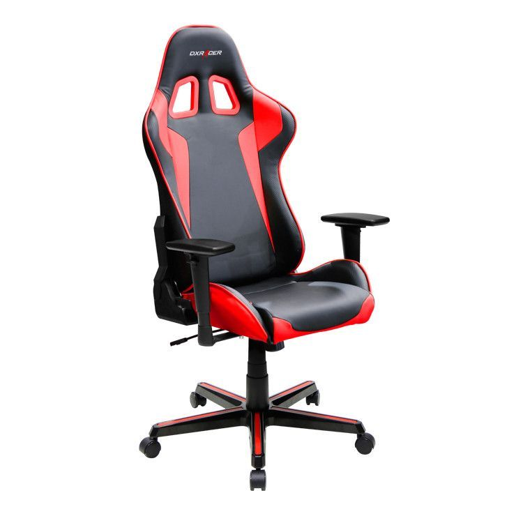 Dx Racer Formula Series Ergonomic Gaming Chair Oh Fh00 Gaming Chair Game Room Chairs Leather Chair Makeover