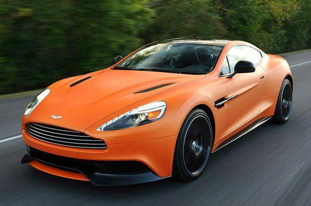 2014 Aston Martin Vanquish V12 Orange Bmw Araba Otomobil