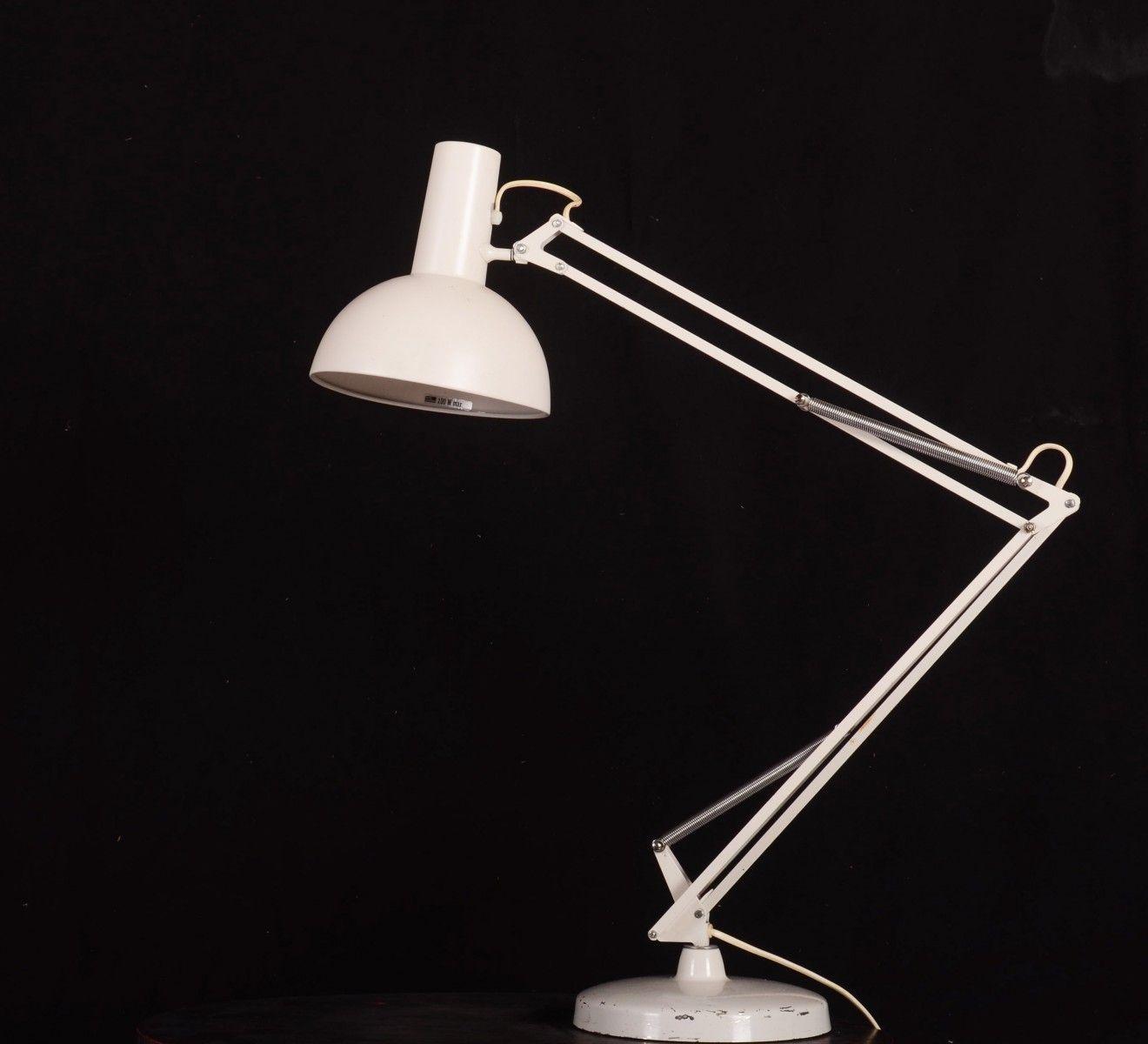 Steel Table Lamp by Louis Poulsen, 1970s 6