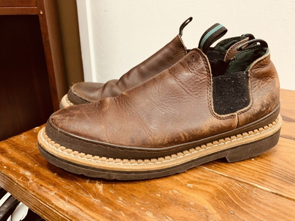 12c07384123 Men s Georgia Giant GR262 Brown Romeo Slip-On Work Shoes   Boots Size 11.5W   fashion  clothing  shoes  accessories  mensshoes  boots (ebay link)