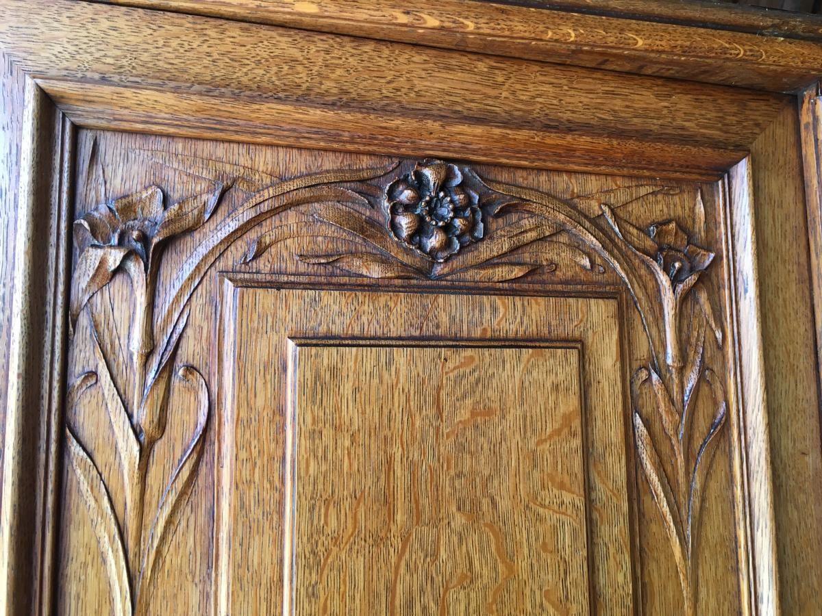 Meuble Art Nouveau De Krieger Paris 1900 Buffets Enfilades In 2020 Art Nouveau Nouveau Art