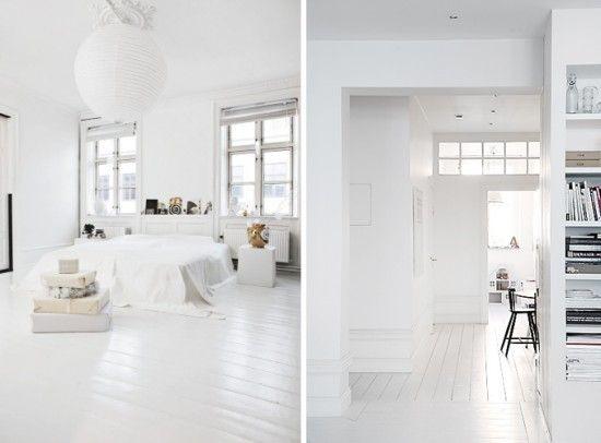 bedrooms - White Floor Bedroom