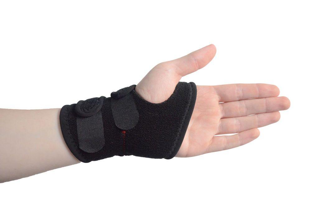 Breathable carpal tunnel splint wrist support brace