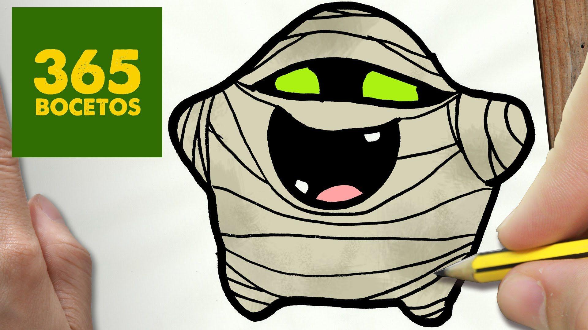 Pin De Mia Williams En 365 Bocetos Theme Halloween Dibujos Kawaii Dibujo Paso A Paso Dibujos Kawaii 365