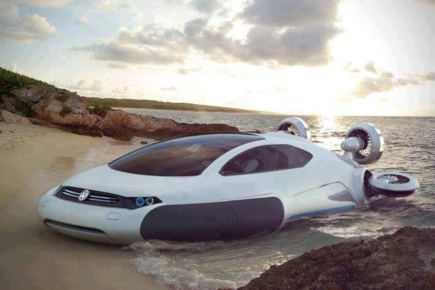 Supercar hovercraft.