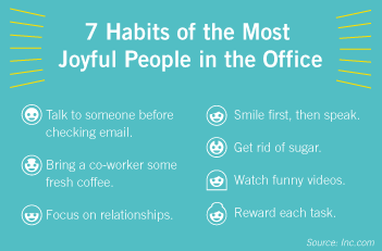 Want to be happier at work? Try adopting these 7 habits of