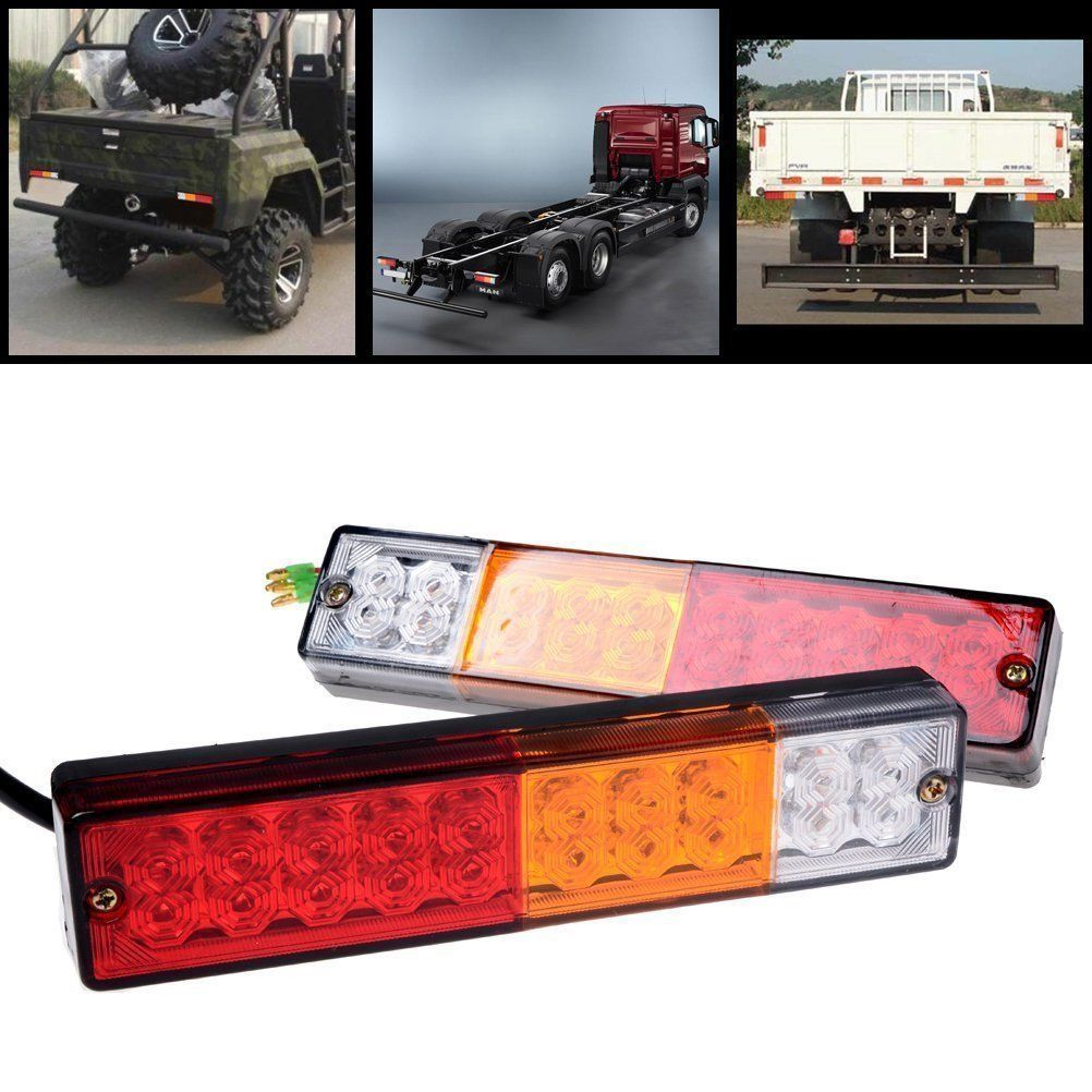 2x 20led 12v Feux Arriere Freinage Lumiere Clignotant Lampe Camion Remorque 4wd Ebay Trucks Tail Light Led