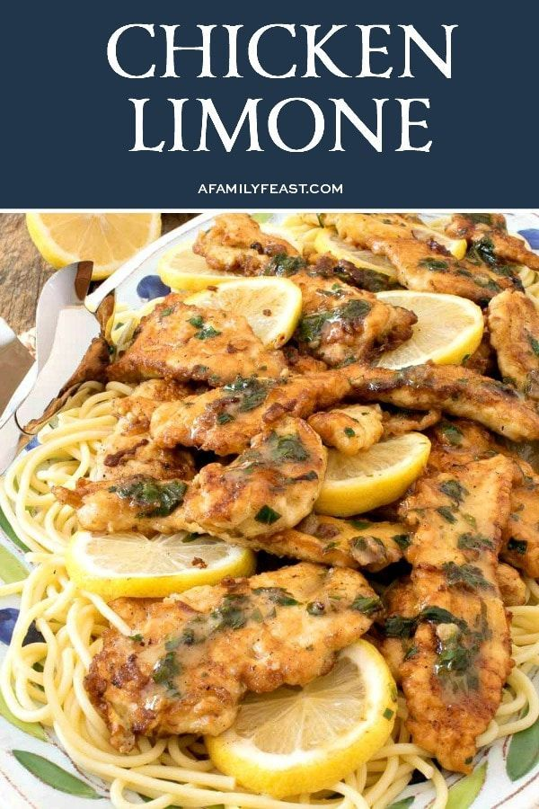 Chicken Limone is elegant enough for a dinner party but easy enough to make for dinner any day of the week