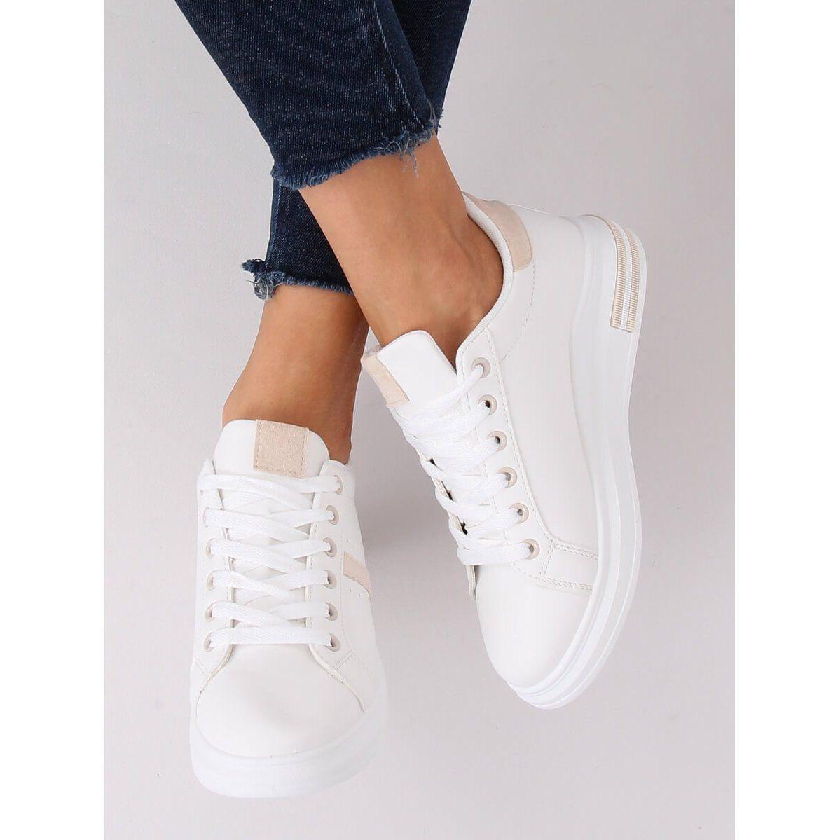 Buty Sportowe Damskie Biale Bl201p Beige Wedding Sneaker Wedding Shoe Shoes