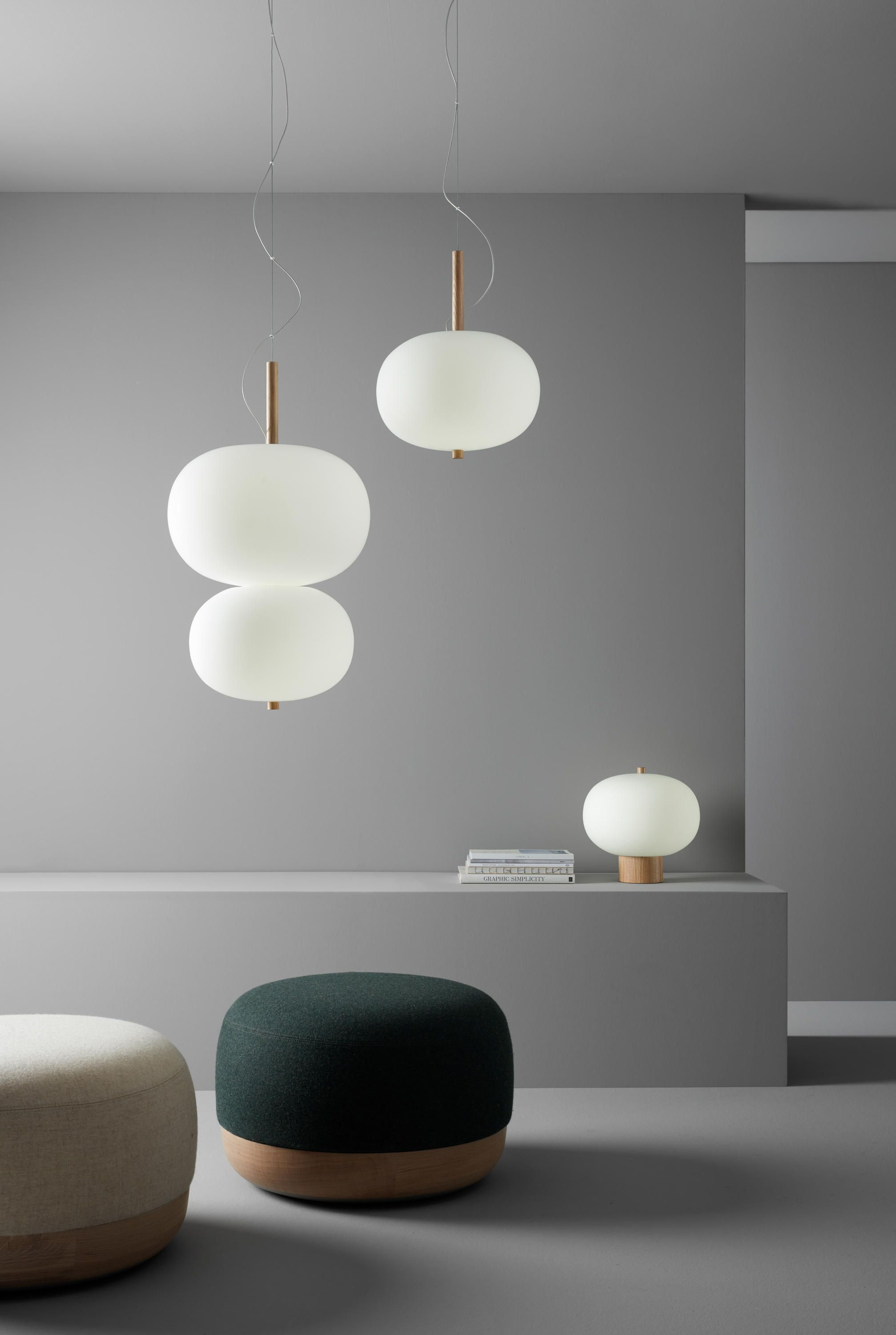 Ilargi double designer general lighting from grok