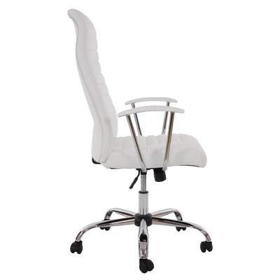 bureau cagliari ergonomique pu blanc