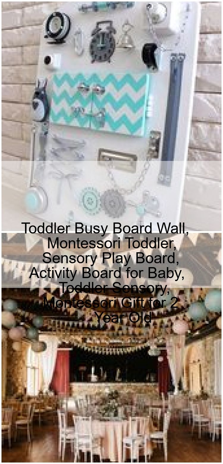 Toddler Busy Board Wall Montessori Toddler Sensory Play Board Activity Board for Baby Tod Toddler Busy Board Wall Montessori Toddler Sensory Play Board Activity Board for...