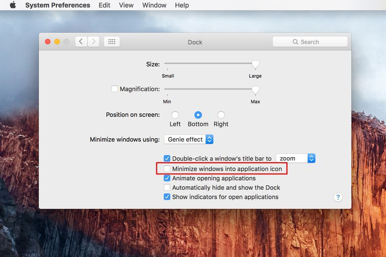 Hide Or Show Your Mac S Dock Dock Application Icon Tips