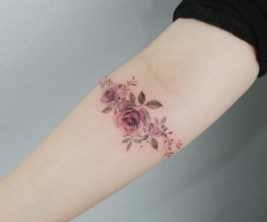 Flower Tattoo artist Tattooist_flower – 타투이스트 | Tattoo | ARTWOONZ
