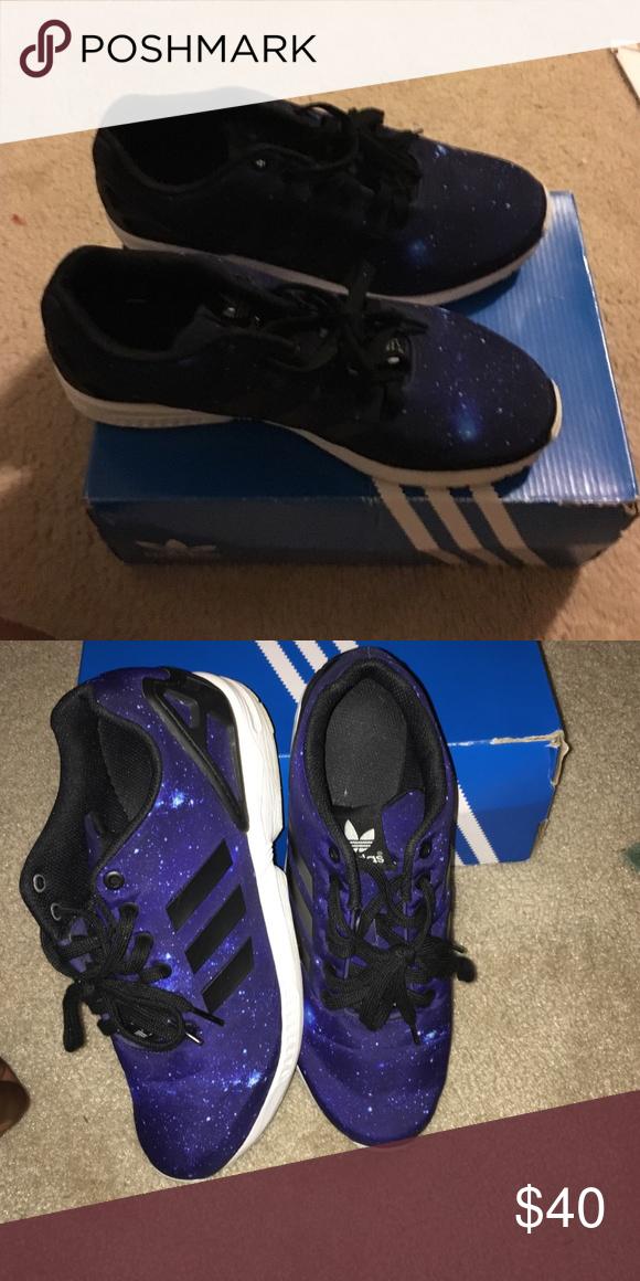 sì adidas zx flusso galassia scarpe uomini le adidas.