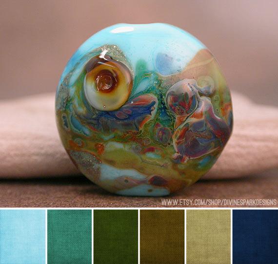Art Bead Scene Blog Palette Divine Spark Designs Color Themes