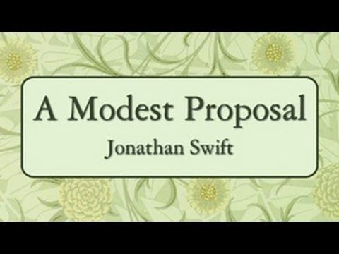 A Modest Proposal Full Audio Book By Jonathan Swift Comedic