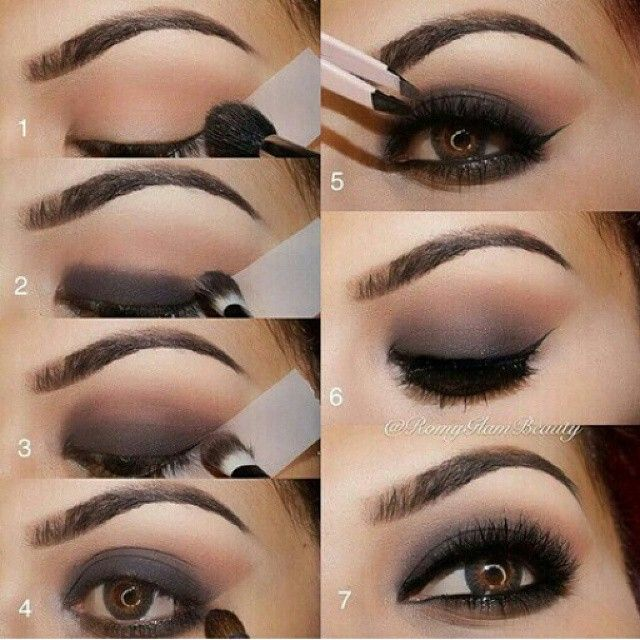 Smoky eye make up #make up #idea