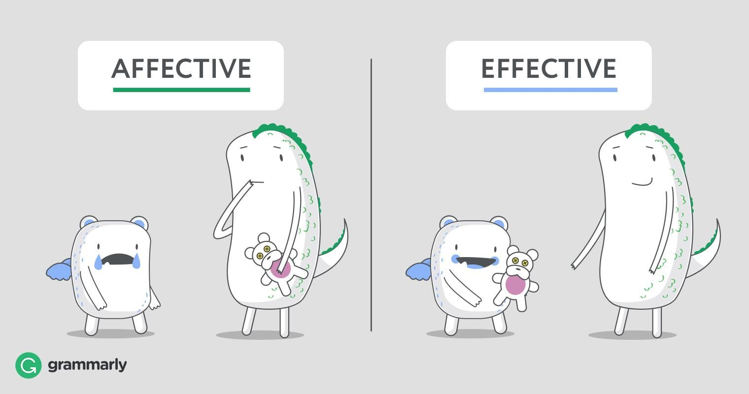 Affective Vs Effective What S The Difference Con