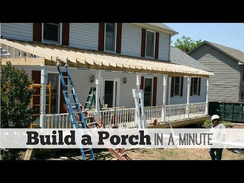 Build A Porch In Minute By Front Ideas You