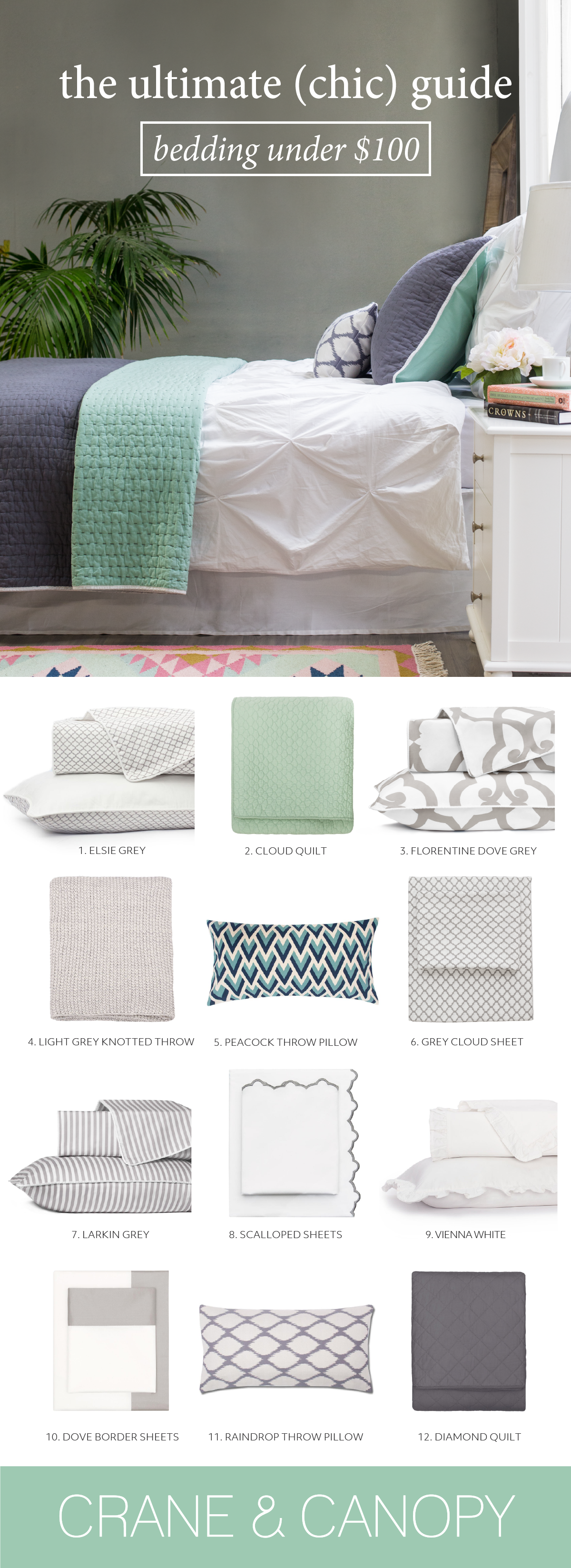 From chic bedding and luxury sheets find gorgeous bedding that fits