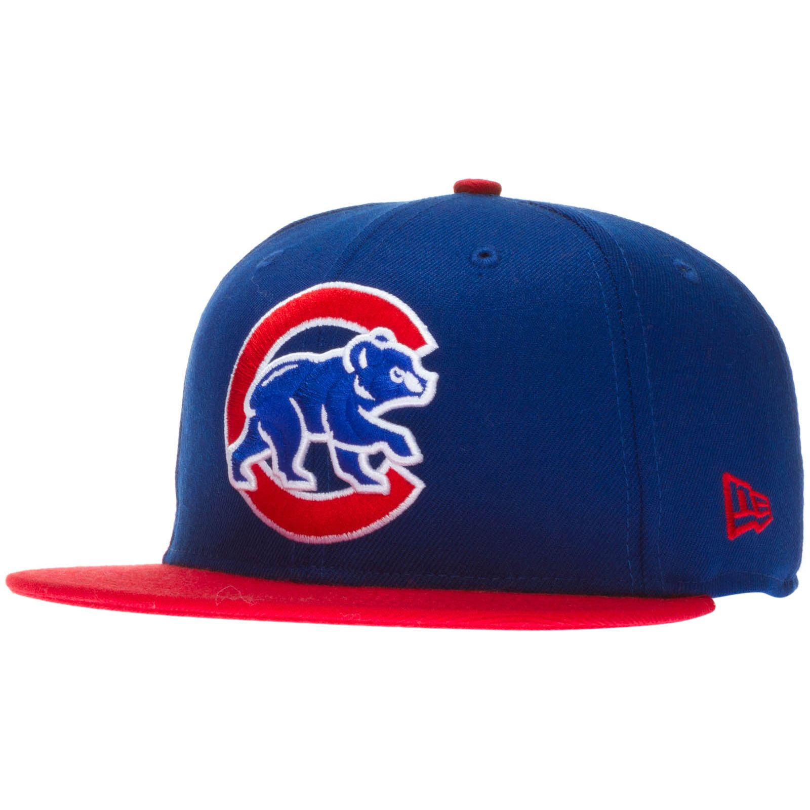 fb35902a96b Chicago Cubs Royal and Red Oversize Crawl Bear Logo Snapback Hat by New Era   Chicago  ChicagoCubs  Cubs