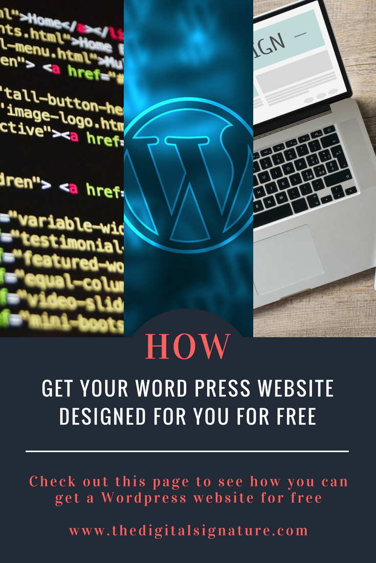 Learn How You Can Get A Free Website Or A Free Blog Free Website