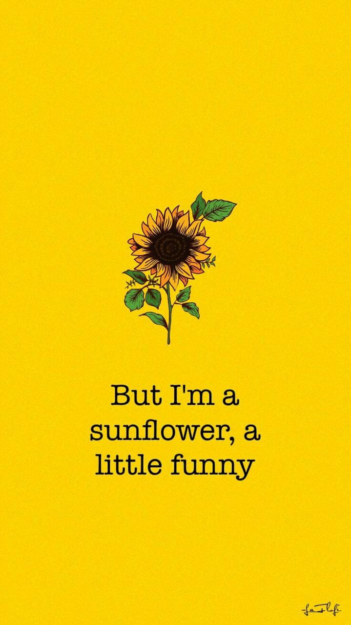 Pin By Analise On Iphone Wallpaper With Images Sunflower Wallpaper Aesthetic Wallpapers Yellow Aesthetic
