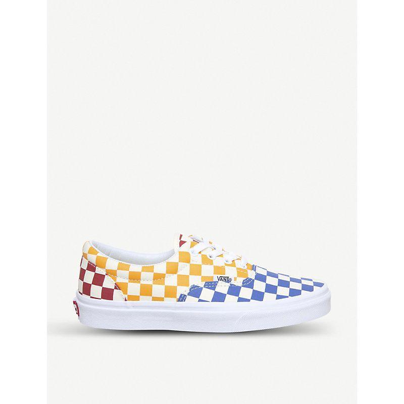 Vans Orange Foam Era Sneakers for men