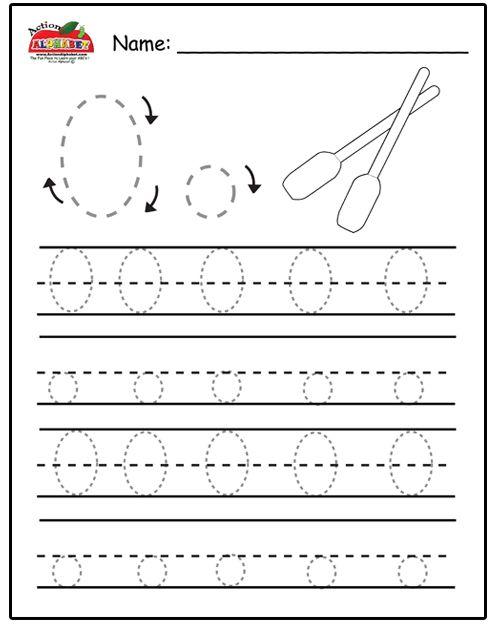 Free Prinatble Aphabet Pages ~Preschool Alphabet Letters Trace ...