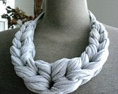 Looped Jersey Necklace