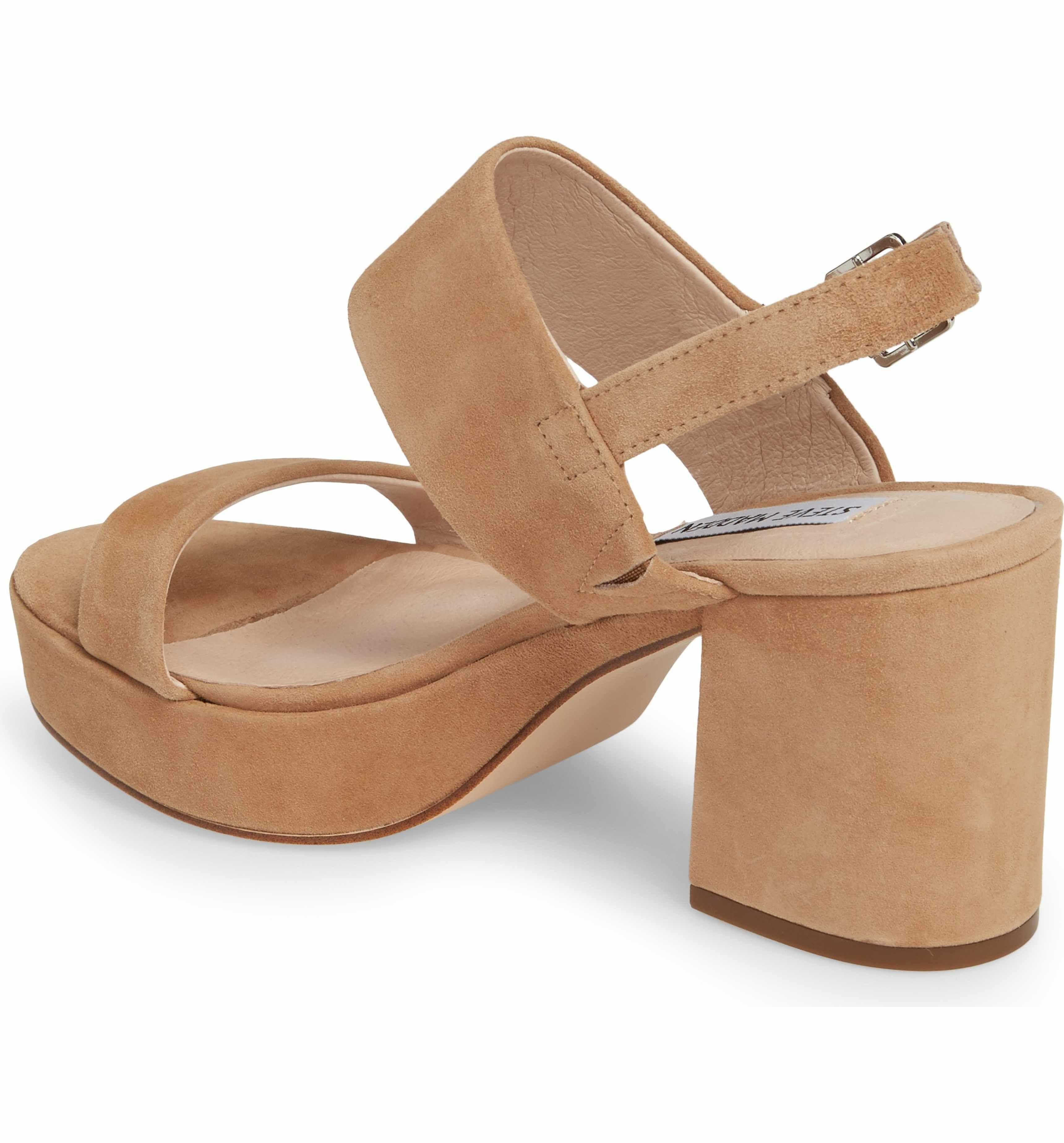 59954020cce1 Main Image - Steve Madden Reba Slingback Platform Sandal (Women ...