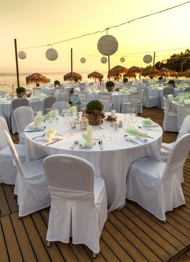 love this idea for the reception #dreamwedding #greece