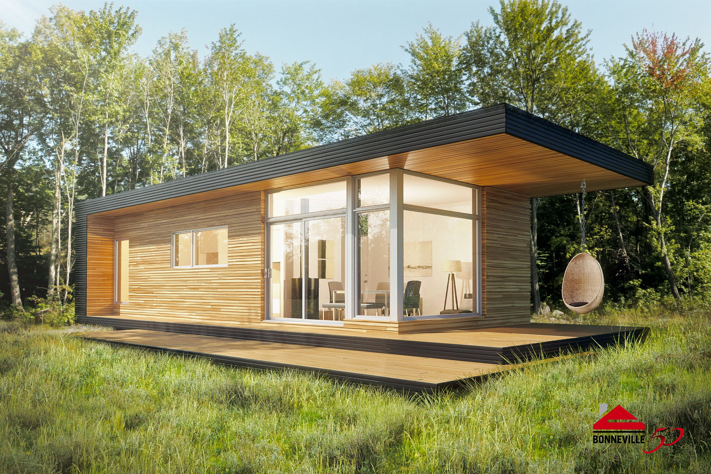 Fabricant De Maison Container bonneville homes will present the latest home in their micro