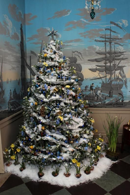 The Magic Of A Winterthur Christmas Winter Wonderland Decorations Christmas Decorations Christmas