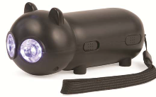 CAT LED Dynamo Flashlight - Min Order: 12 (BB185) - Perkal Gift & Clothing Importers SA - Over
