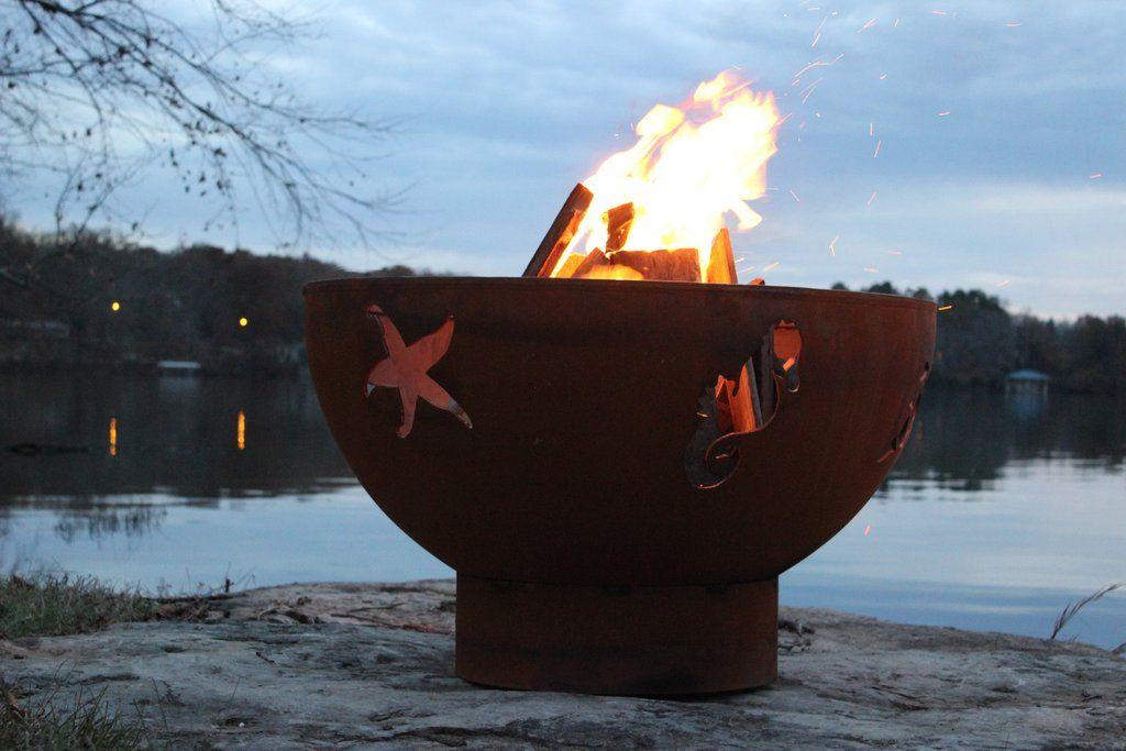 Park Art|My WordPress Blog_Fire Pit Art Manta Ray